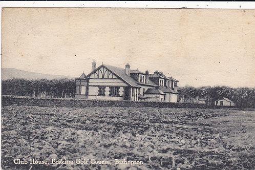 Erskine Golf Club House Ref.1363 C.1922