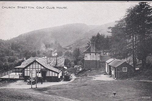 Church Stretton Golf House C.Ea 1900 Ref.1689