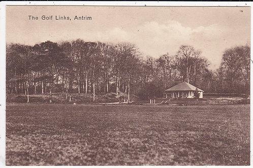 Antrim Golf Course & Club House Ref.1517 C.Ea 1900s