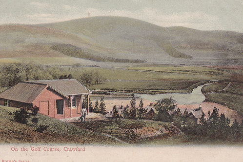 Crawford, Lanark.On The Golf Course.Ref 262 C.1907