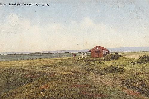 Dawlish Warren Golf Links Ref.1899 C.1907