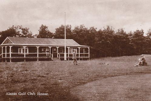 Alness Golf Club House.Ref 783. C.Early 1900s