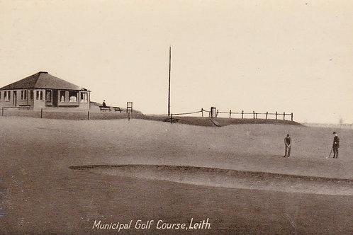Leith Municipal Golf House.Ref 550. C.1908-18