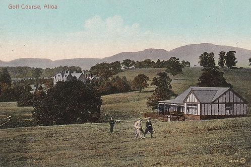 Alloa Golf Course & Club House  Ref 955 C.1914-18