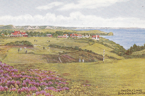 Budleigh Salterton Golf Links.Ref 867. C.1920s