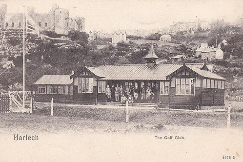 Harlech Golf Club House Ref.1918 C.Pre 1914