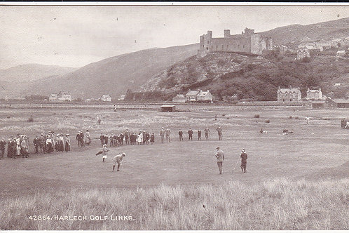 Vardon v Braid Match. Harlech.Ref.484