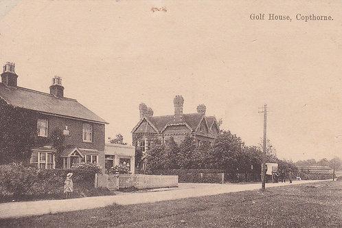 Copthorne Golf Club House Ref.2087a C.pre 1914