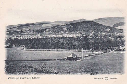Peebles Golf Course & Village Ref.2048a C.1905-10