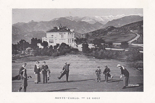 Monte Carlo Golf Course C.1915-18 Ref.277a