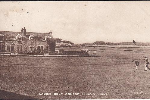 Lundin Links Ladies Course Ref.1586 C.1923