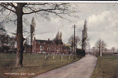 Northenden Golf House M/Cr Ref.1518 C.1930s-40s
