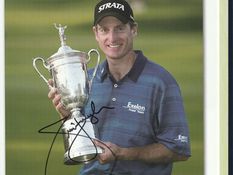 "New Listings of Signed US ""Open"" Championship Golf Annuals, All in MINT condition."