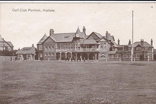 Hoylake Golf Club Pavilion  Ref.224 C.1914-19