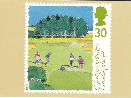 Carnoustie Stamp PC Ref.1662 C.1994