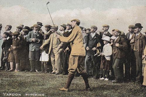 Vardon,Harry Pitching  Ref.159 C.1910