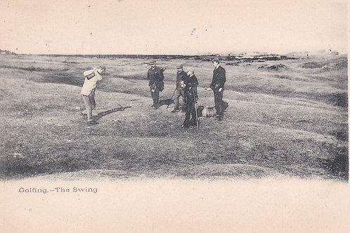 Hugh Kirkcaldy 1891 Open Champion C.1906 Ref.1739a