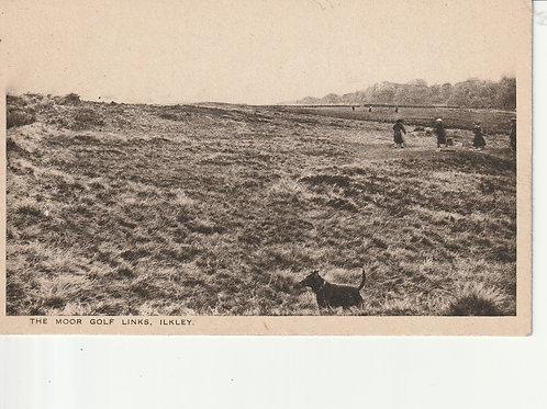 SOLD Ref.2308.Ilkley (Moor) Golf Course  Ref.2308 C.Ea 1900s