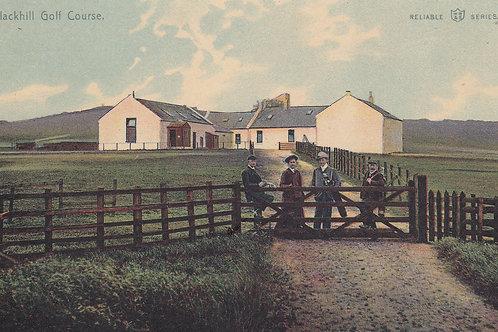 Blackhill Golf Course,Glasgow (Ref 185) C.1905-10