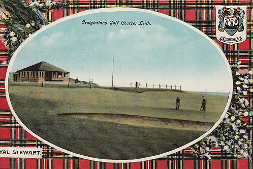 Craigintinny Golf Links, Leith Ref.2616