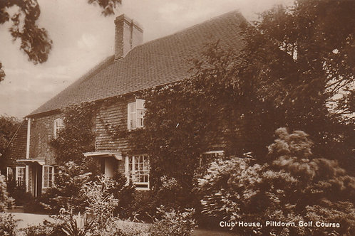 Piltdown Golf Club. part set of 4 from Set of 6 Postcards.Ref.2710 C.1930s