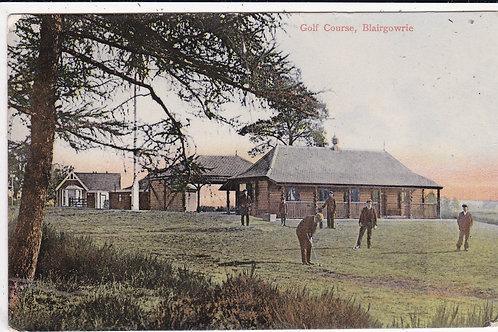 Blairgowrie Golf Pavilion Ref.1407 C.1907
