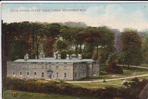 Huddersfield (Fixby) Golf Club Ref.1029 C.1911