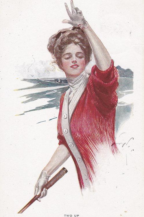 Golf Art(Ladies) Fashion C.1905 Ref.1717a