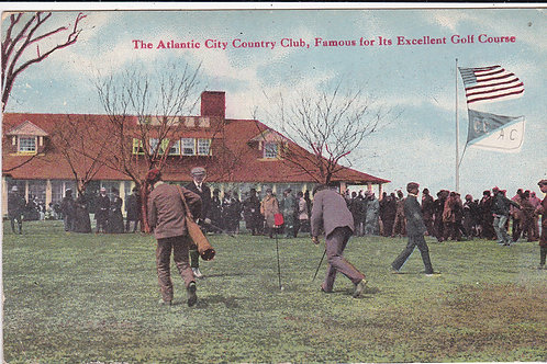 Vardon (Harry) at Atlantic City Ref 1249 C.1908