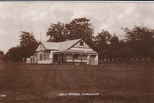 Kirriemuir Golf Pavilion Ref.1611 C.1917 RARE Card.