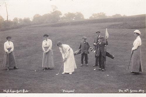 """West Essex Golf Links """"Foursome""""Ref.2249a"""