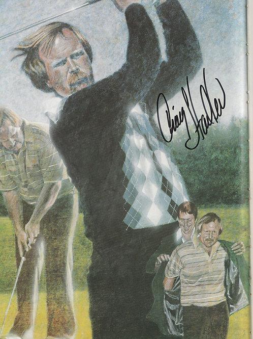 1982 Craig Stadler Signed Masters Annual Ref. Ref.MA.507 C.1982