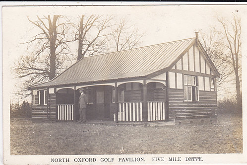 North Oxford Golf Pavilion Ref.1181 C.1910