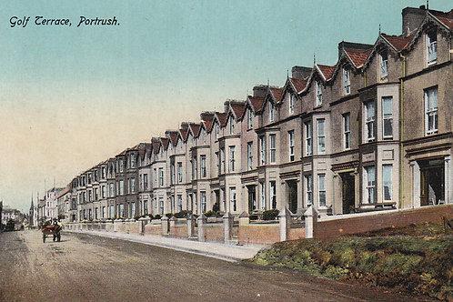 Portrush Golf Terrace +1.Ref 915/915B C.Ear. 1900s