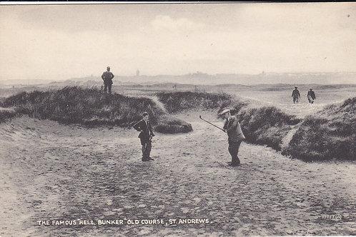 St Andrews & Andra Kircaldy Hell Bunker Ref.207 C.19