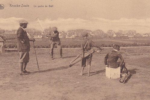 Knocke-Zoute Golf Club  Ref.1675a C.1910-15