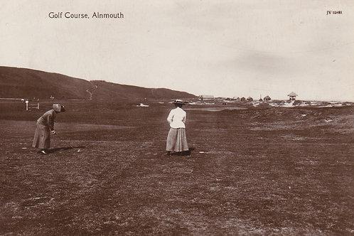 Alnmouth Village Club.Ref 344. C.1890-1900