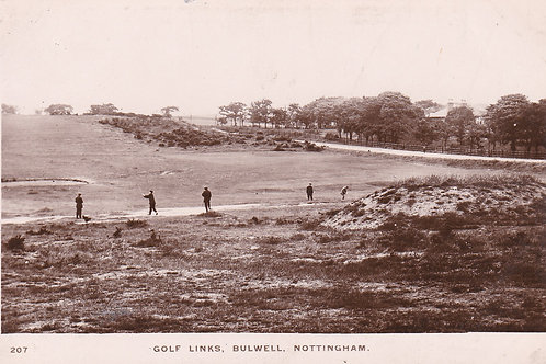 Bulwell Golf Links,Notts C.1910-14 Ref.022a