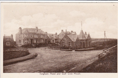 Kinghorn Golf House & Hotel Ref.1366 C.1916