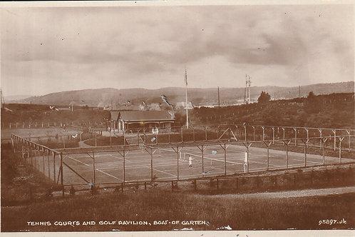 Boat of Garten Golf Pavilion & Tennis Courts Ref.1494a C.1930s