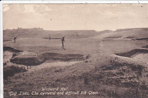 Westward Ho! Golf Links Ref.032 C.1907-10