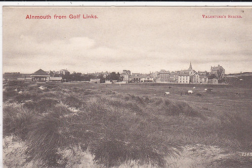 Alnmouth Village Club & Links Ref.062 Early Card.
