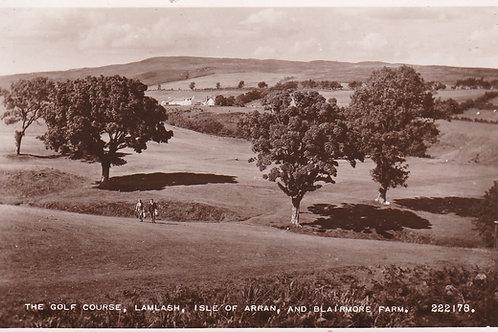 Lamlash Golf Links Ref.2104a C.1930s