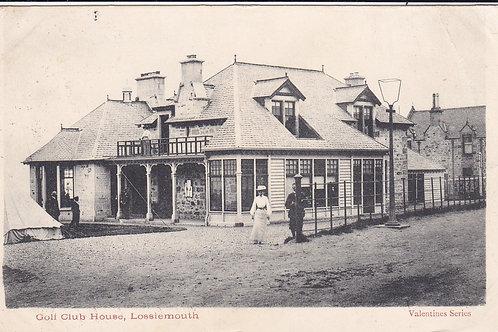 Lossiemouth Golf Club House Ref.1784 C.1903