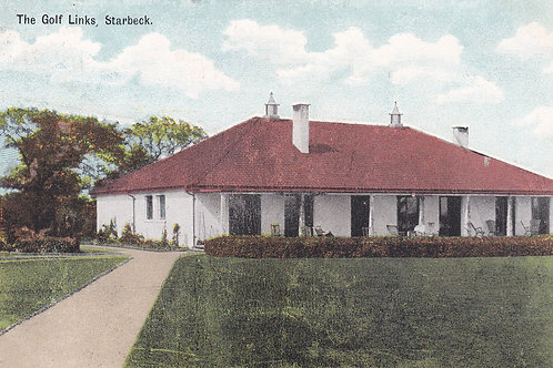 Starbeck Golf House H/gate C1906.Ref.785a