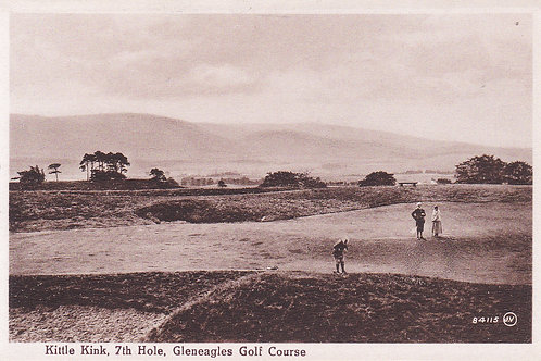 Gleneagles.Kittle Kink 7th Hole Ref.990 C.1920s