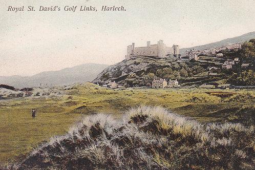 Harlech Golf Links & Pavilion Ref.2237a C.Pre 1910