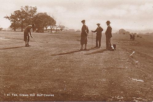 Crews Hill, (Pro Chas Whitcombe) (Ref 946) C.1930s