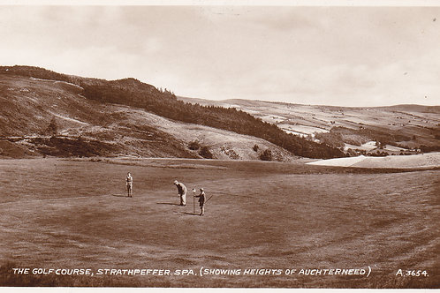 Strathpeffer Golf Links Ref 963 C.1930s