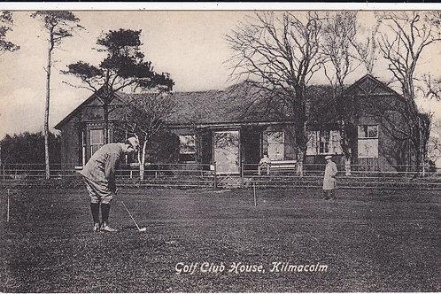 Kilmacolm Golf Pavilion Ref.1375 C.1914-18